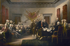 John Trumbull's Declaration of Independence